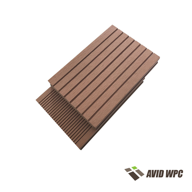 Solid Decking Board: Composite Decking