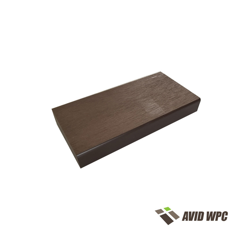 Solid Decking Board: Fireproof Solid Composite Decking Board