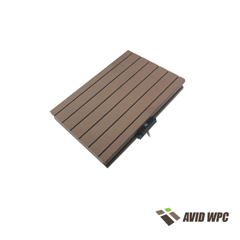 Solid Decking Board: Good Quality WPC decking