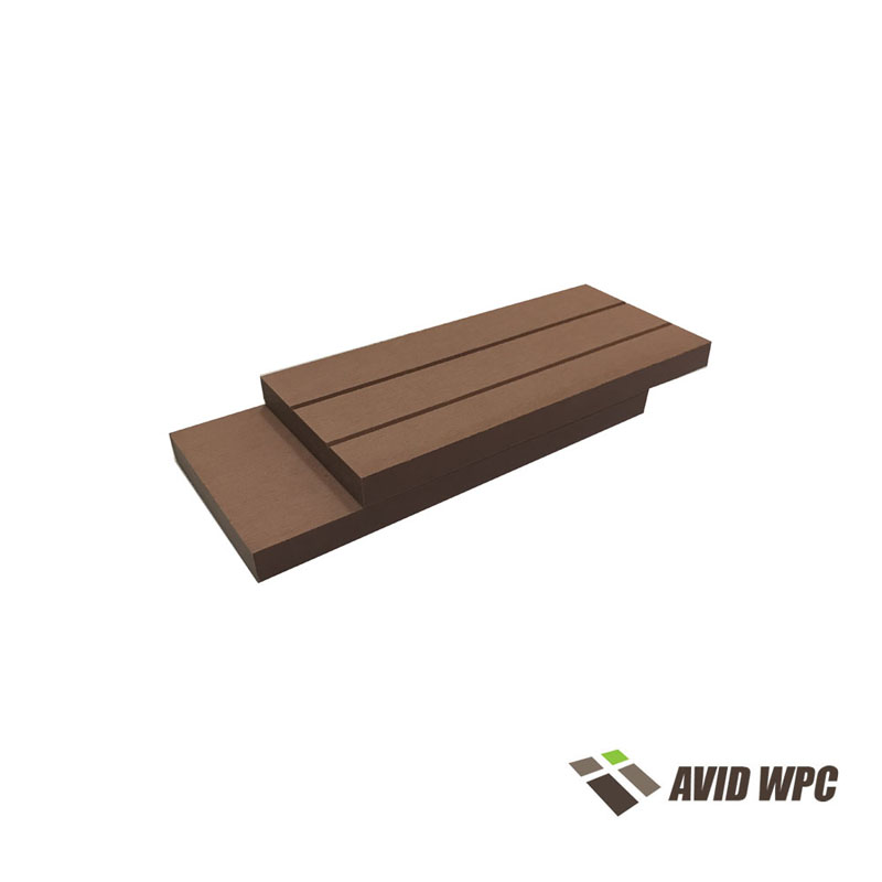 Solid Decking Board: Solid Plastic Decking Board