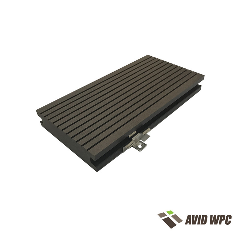 Solid Decking Board: WPC Outdoor Decking