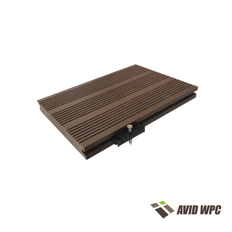 Solid Decking Board: solid composite decking