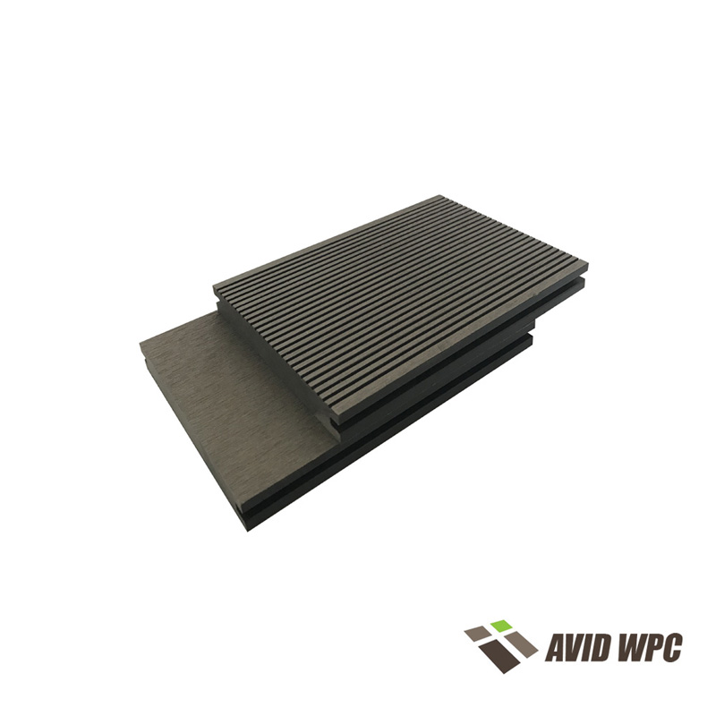 Solid Decking Board: wpc composite decking